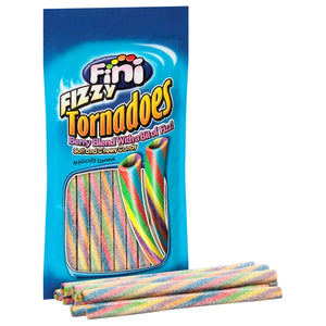 Fini Fizzy Tornadoes Soft and Chewy Candy- 4-oz. Bag
