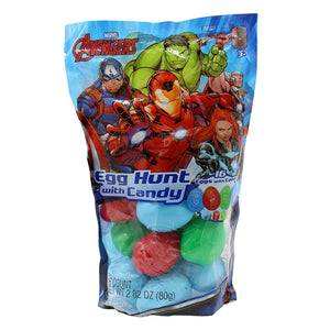 Marvel Avengers Easter Egg Hunt Eggs with Candy - 2.82-oz. Bag
