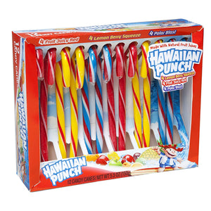 Hawaiian Punch Assorted Candy Canes - Box of 12