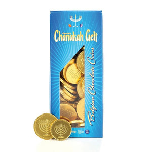 Chanukah Gelt Tower Box - 1 lb