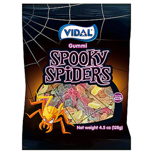 Gummi Spooky Spiders - 4.5-oz. Bag