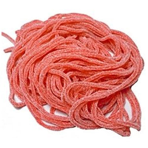 Gustaf's Sour Strawberry Licorice Laces - 2 LB Bag