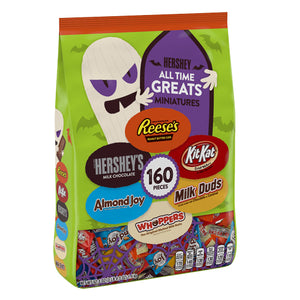 Hershey's All Time Greats Miniatures Assortment - Bag of 160