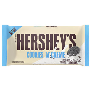 Giant Hershey's Cookies 'N' Creme Candy Bar 6.5 oz.