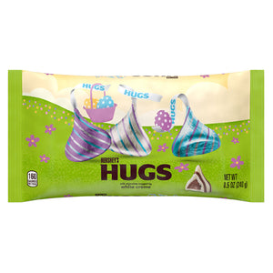 Hershey's Hugs Kisses Chocolate Candies Easter Colors - 8.5-oz. Bag