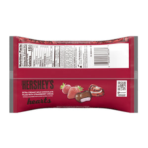 Hershey's Hearts Milk Chocolate & Strawberry Creme - 10-oz. Bag