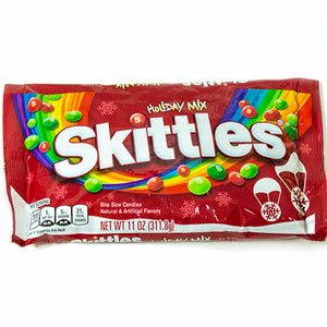 Holiday Mix Skittles Bite Size Candies - 11-oz. Bag
