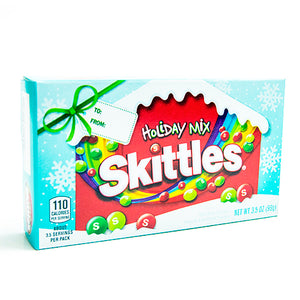 Holiday Mix Skittles Bite Size Candy - 3.5-oz. Theater Box