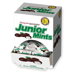 Junior Mints Snack Size Boxes .35 oz. - Case of 72