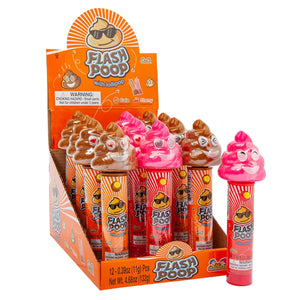 Flash Poop with Lollipop Candy Toy 0.39 oz.