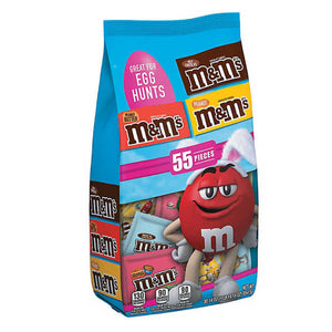 M&M's Easter Egg Hunt Fun Size Variety Pack - Bag of 55