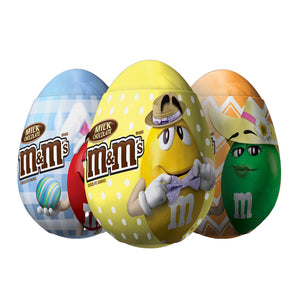 M&M's Milk Chocolate Candies Filled Easter Egg .93-oz.