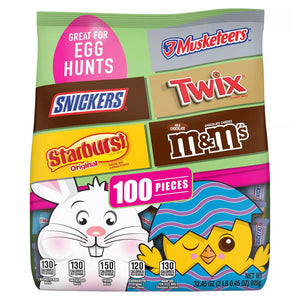 Mars Easter Egg Hunt Candy Assortment - Bag of 100