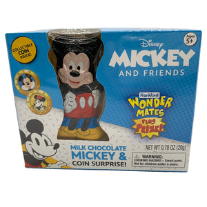 Mickey and Friends Wonder Mates Milk Chocolate Candy & Coin Surprise - .70 oz.