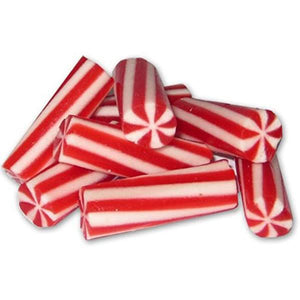 Mini Licorice Christmas Candy Cane Gummi Candy - 4.4 lb Bag