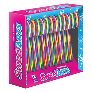 SweeTARTS Candy Canes - Box of 12