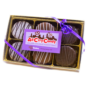 Gourmet Chocolate Covered Oreo Cookies - 6-Piece Gift Box