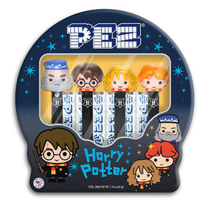 PEZ Harry Potter Candy Dispenser Gift Tin