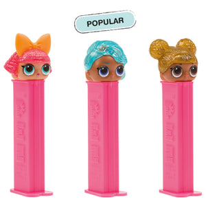 PEZ LOL Surprise Collection Candy Dispenser - 1-Piece Blister Pack