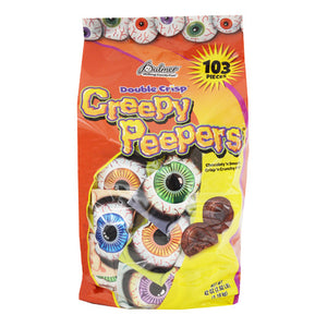 Palmer Double Crisp Chocolate Creepy Peepers Candy