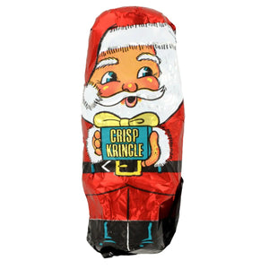 Palmer Crisp Kringle Double Crisp Chocolate Santas 3 Pack