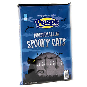 Peeps Marshmallow Spooky Cats 12-Pack