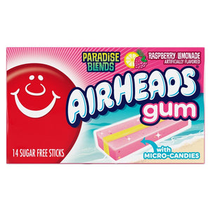 Airheads Gum Paradise Blends - 14-Stick Pack