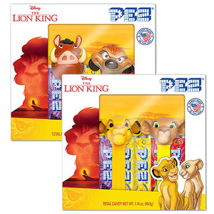 PEZ Disney The Lion King Candy Dispenser Twin Pack Gift Box