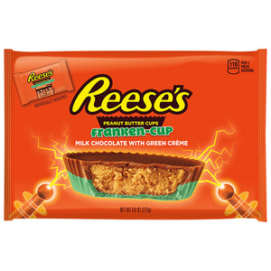 Reese's Franken-Cup Peanut Butter Cups Snack Size - 9.6-oz. Bag