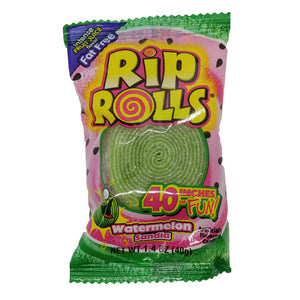 Rip Rolls Watermelon Licorice Candy - 1.4 oz.