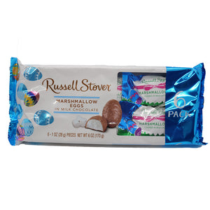 Russell Stover Milk Chocolate Marshmallow Egg - 6 count