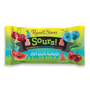 Russell Stover Sours! Iddy Biddy Bunnies - 1.4-oz. Bag