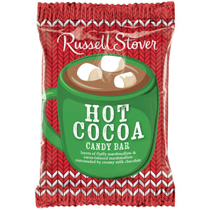 Russell Stover Milk Chocolate Hot Cocoa Marshmallow Candy Bar 1 oz.