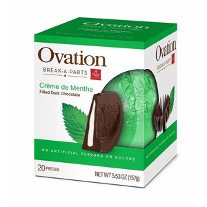 Ovation Dark Chocolate Creme d'Menthe Break-A-Part - 5.53 -oz. Sphere