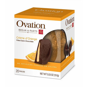 Ovation Dark Chocolate Creme d'Orange Break-A-Part - 5.53 -oz. Sphere