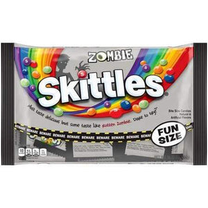 Skittles Zombie Fun Size Packs - 10.72-oz. Bag