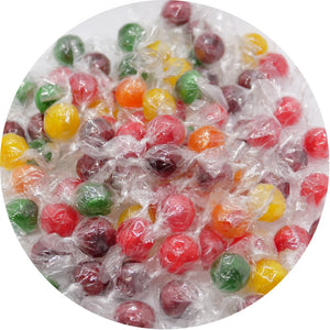 Assorted Fruit Sour Balls Hard Candy - 4.85-lb. Bulk Bag