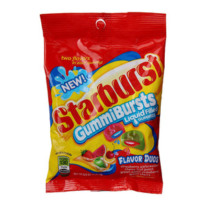 Starburst GummiBursts Flavor Duos Liquid-Filled Gummies - 6-oz. Bag