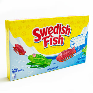 Swedish Fish Soft & Chewy Candy - 3.1-oz. Holiday Theater Box