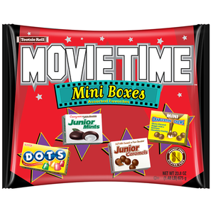 Tootsie Roll Classic Movie Time Mini Boxes - 23.8-oz. Bag