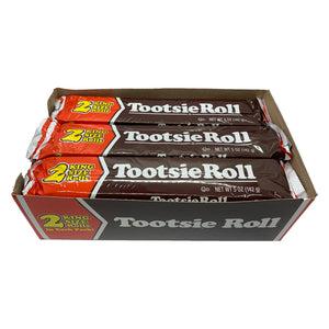 Giant King Size Tootsie Roll 2 Pack - 5-oz Bar