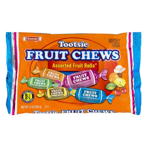 Tootsie Fruit Chews Assorted Fruit Rolls - 15-oz. Bag