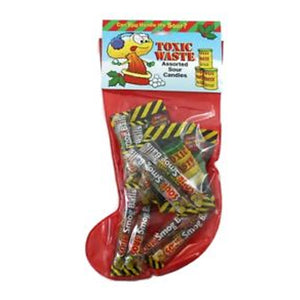 Toxic Waste Sour Candies Christmas Stocking 3.67 oz.