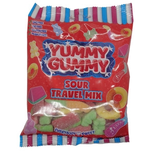 Yummy Gummy Sour Travel Mix - 5.3-oz bag