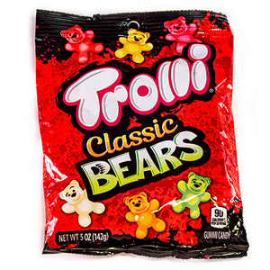 Trolli Classic Bears Gummi Candy - 5-oz. Bag