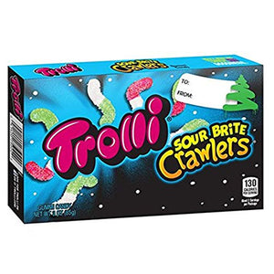 Trolli Sour Brite Crawlers Gummi Candy - 3-oz. Christmas Box
