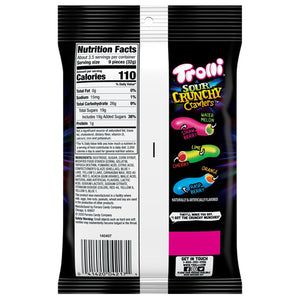 Trolli Sour Crunchy Crawlers Gummi Candy - 4.25-oz. Bag