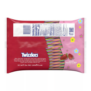 Twizzlers Twizted Strawberry Blast Pull 'n' Peel Licorice Candy Snack Size Packs - 10.12-oz. Bag