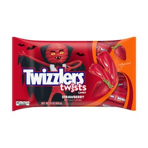 Twizzlers Strawberry Licorice Twists Snack Size Packs - 22-oz. Bag