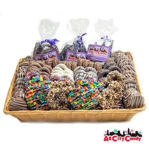 Ultimate Plus Collection Gourmet Chocolate Covered Pretzels & Treats Gift Basket